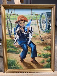 Original Irma Daniels Painting