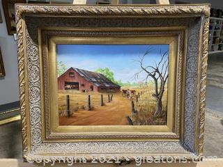 Beautiful Irma Daniels Painting
