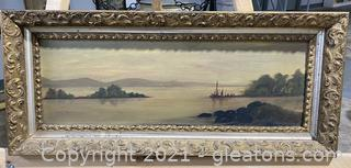 Beautiful Seascape Painting