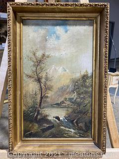 Charming Original Landscape Painting