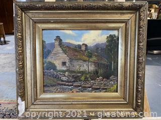 Cob Cottage Painting