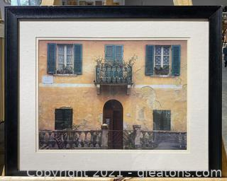 Printed Photograph of Rome