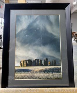 Printed Photograph of Stonehenge