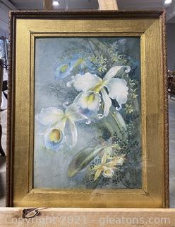 Beautiful White Orchids Painting