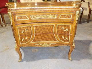 Beautiful Gilt Trimmed Chiffonier (Commode) Louis XVI Style Antique (18th century)