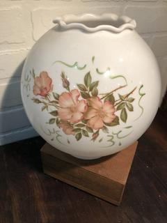 Hand Painted Round Gone With The Wind Lamp Shade