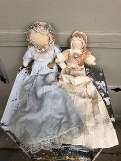 "Hand Made Dolls 30"" long"