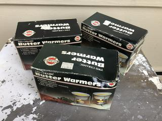Lot of Butter Warmers New in Pack