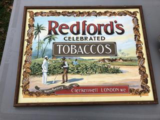 Vintage Redforeds Tobacco Print
