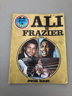 Boxing Illustrated Ali vs Frazier 1975