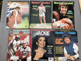 Lot of Vintage Sports Illustrated and Jackie O Tribute