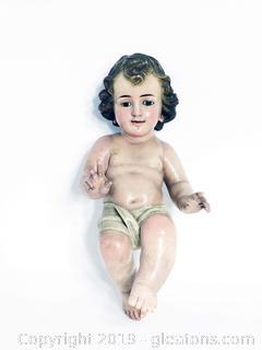 Heavy Cherub Figurine