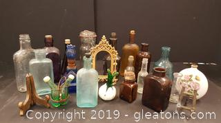 Antique and Vintage Glass Lot