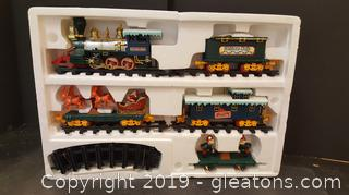 New In Box Christmas Train
