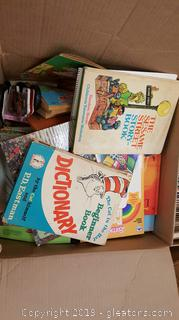 Large Box Of Vintage Children's Books