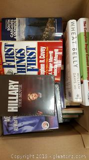 "Box Lot Of Books + Etc. ""Killingthe Deepsouth"""