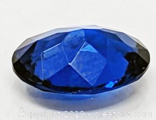 Blue Topaz Oval 1.7 Carats