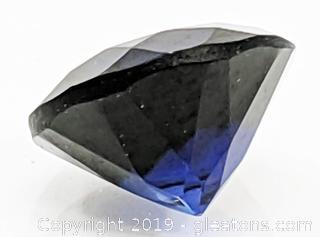 Round Sapphire 1.4 carats