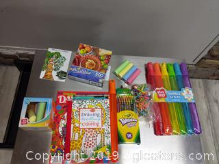 Small Lot Of Children Activity Box