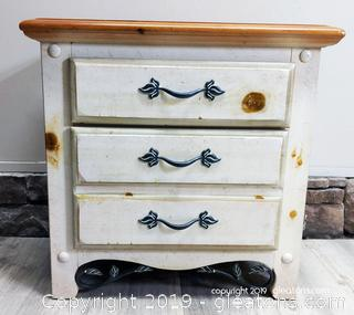 Farmhouse Side Table Night Stand