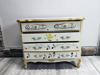 French Provincial Small Chest of Drawers