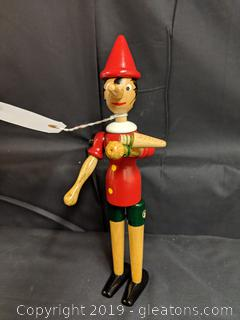 Wooden Brand New Pinocchio