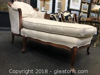 Chaise Lounge Sam Moore Antique Replica