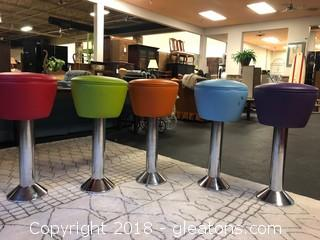 Set of Soda Barstools