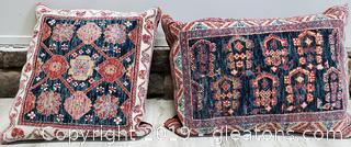 Chinese Hand Knitted Throw Pillows