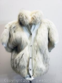 Vintage Leather + Fur Jacket