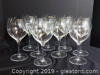 Villeroy & Boch Crystal Baloon Wine Glasses