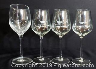 Collection Of Assorted Wine Glasses