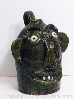 Handmade Ceramic Decanter