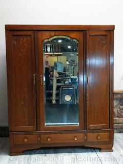 Stunning Antique Armoire