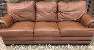 Custom Premium Leather Sofa