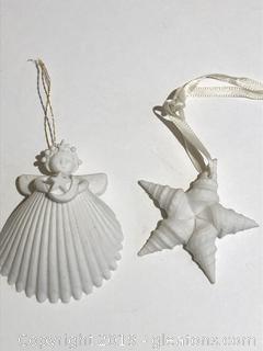Margaret Furlong Collectible Porcelain Christmas Ornaments