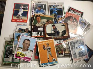 Lot of Baseball Cards form 50's to 80's