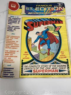 1st Edition Superman Comic Book