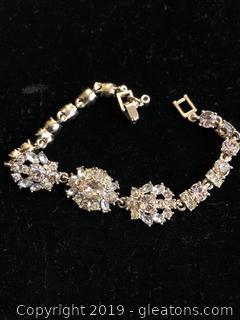Vintage Givenchy Crystal Bracelet