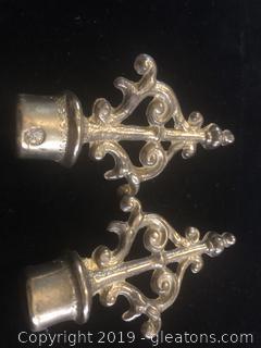 Brass Candelabra Finial