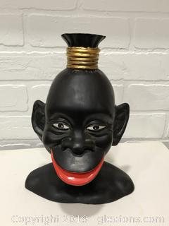 Black Americana African Bust