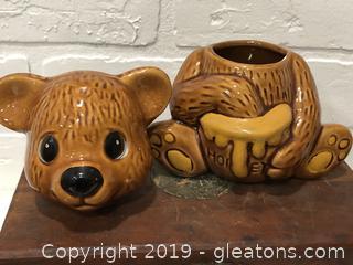 Vintage Honey Jar