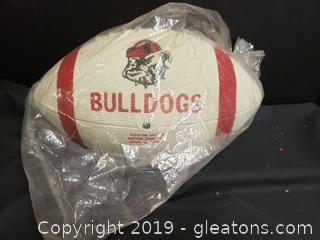 Vintage Rubber Georgia Bulldogs Football Collectible Memorabilia