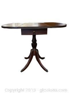 Vintage Duncan Phyfe Drop Leaf Side Table