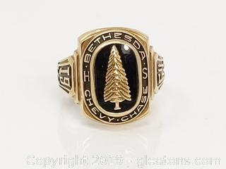 10k 1964 Class Ring Bethesda Chevy Chase