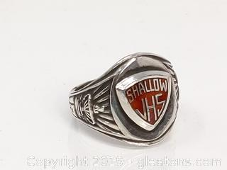 Sterling Silver Class Ring 1973