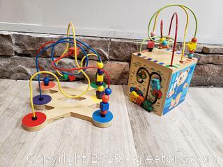 Lot D Activity Set Toddler/Wooden