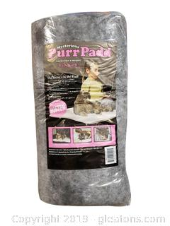 "Mysterious Purr Pad For Cats ""Cats Love It"""