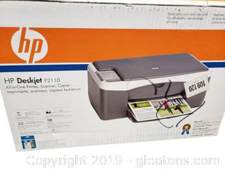 New In Box Hp Deskjet F211- Printer
