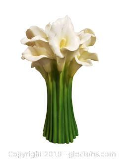 Calla Lily Vase By Iris And Orchid Design Inc.